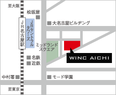 【地図】ウインクあいち